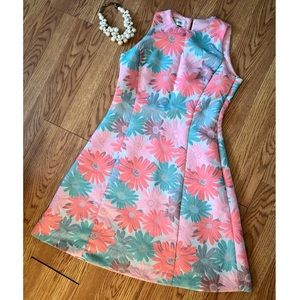 Sara Campbell Floral Dress Size 4
